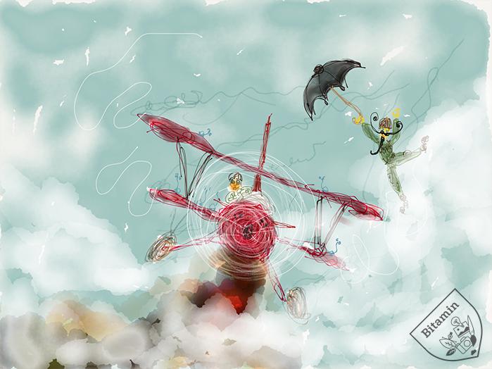 Bye Bye Flying Adventures Ipad Art