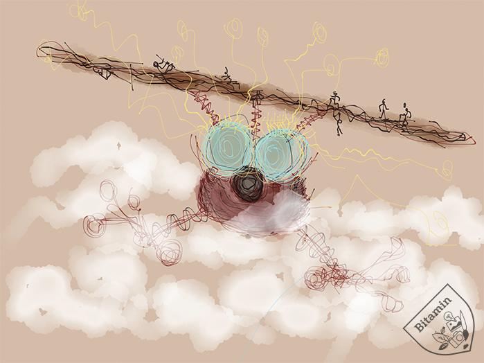 Bi Bird Flying Adventures Ipad Art