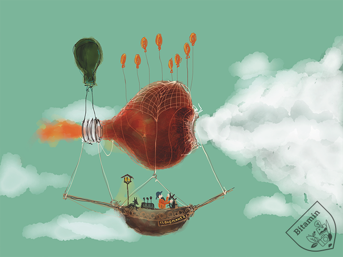 Cloud Master Flying Adventures Ipad Art